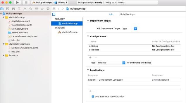 iOS Development Using Custom Build Scheme | Talentica Blog